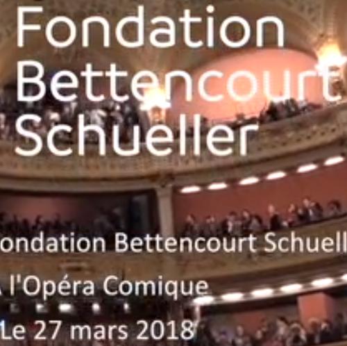 Bande annonce de la soirée Fondation Bettencourt à l'Opéra Comique