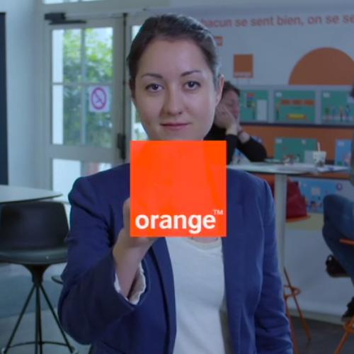 Orange. Être une femme ingénieure